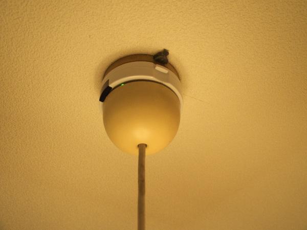 直に天井に手が届かないと取り付けられないので、設置の際はお気をつけ下さいませ